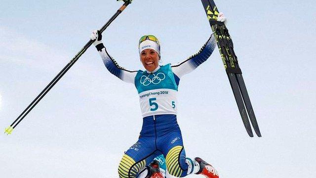 Першу золоту медаль на Зимовій Олімпіаді-2018 виграла лижниця зі Швеції