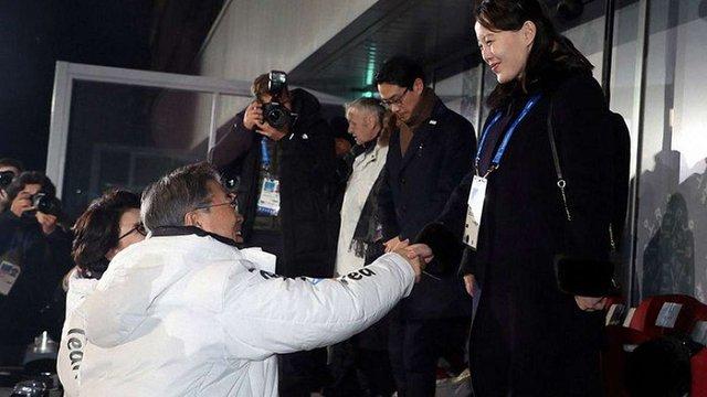 Сестра Кім Чен Ина передала президенту Південної Кореї запрошення в КНДР