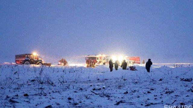 МНС РФ припинило рятувальну операцію на місці катастрофи Ан-148 під Москвою