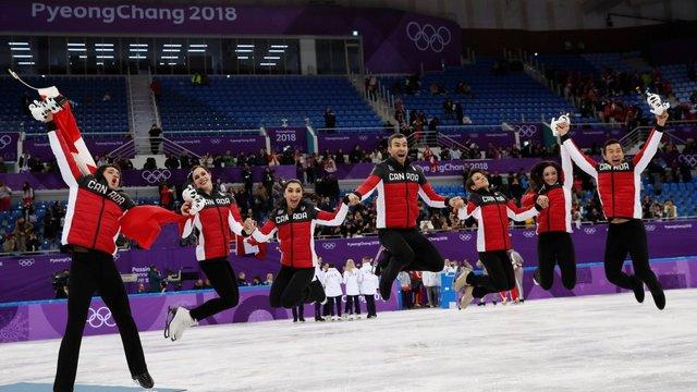 Канадські фігуристи виграли олімпійське золото у командному турнірі