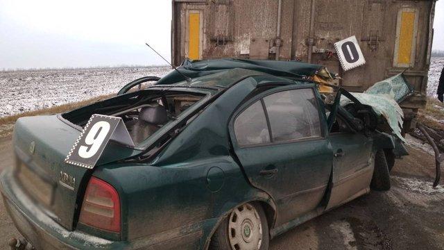На Кіровоградщині у смертельній ДТП загинули троє людей