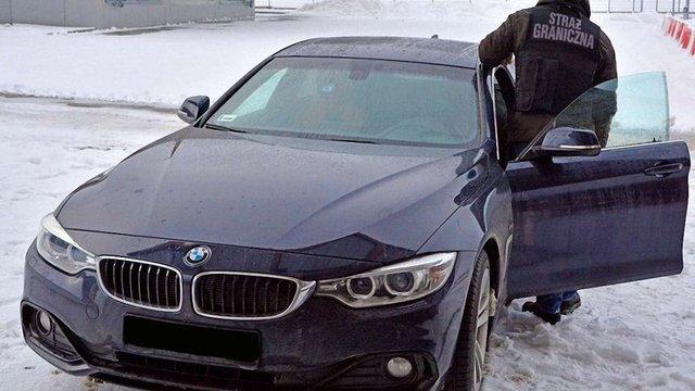 У Польщі затримали українця на краденому BMW вартістю понад ₴1,5 млн