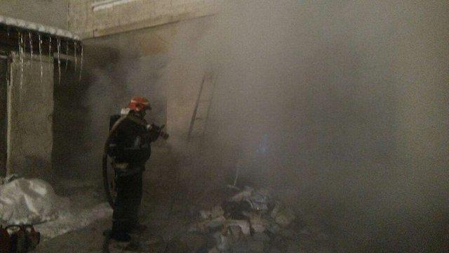 У Тернополі сталася пожежа у міській дитячій лікарні