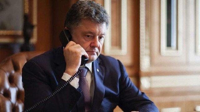 Порошенко розповів про свою телефонну розмову з Путіним