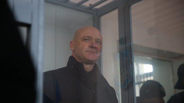 Мера Одеси Геннадія Труханова відпустили на поруки нардепа від БПП