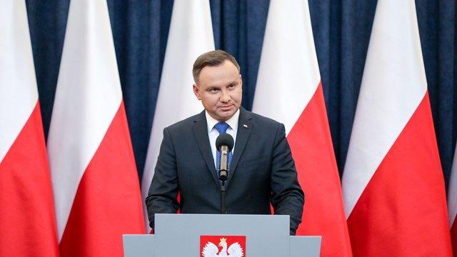 Анджей Дуда направив зміни до закону про Інститут нацпам'яті до Конституційного трибуналу Польщі