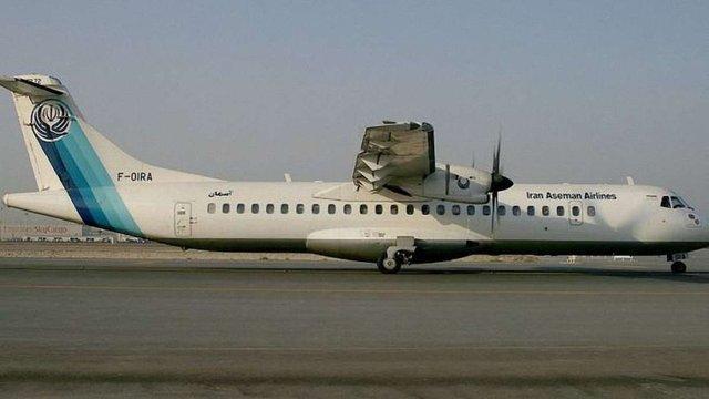 В Ірані розбився пасажирський літак, загинули 66 осіб