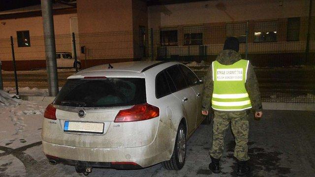 Польські прикордонники затримали двох українців із 130 кг бурштину вартістю ₴2,1 млн