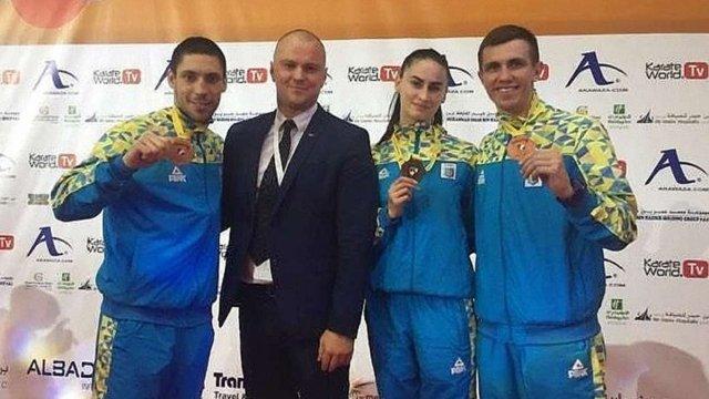 Львівські каратисти стали призерами престижного турніру в Дубаї