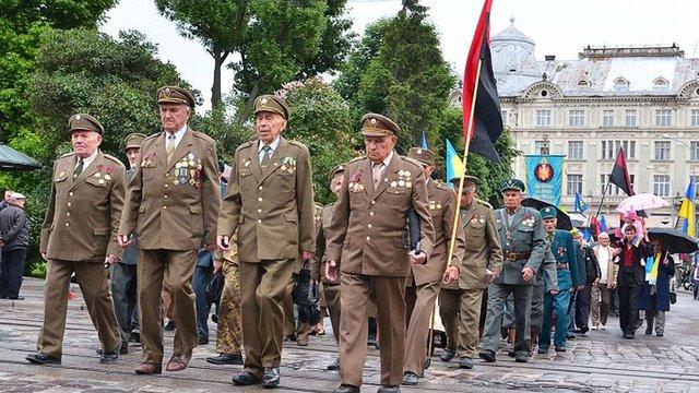 У Львові ветеранам УПА збільшать доплату до пенсії до ₴2 тис.