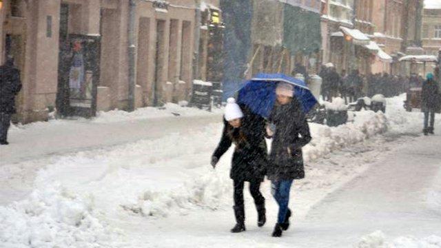 У найближчі дні у Львові очікується невеликий сніг та похолодання