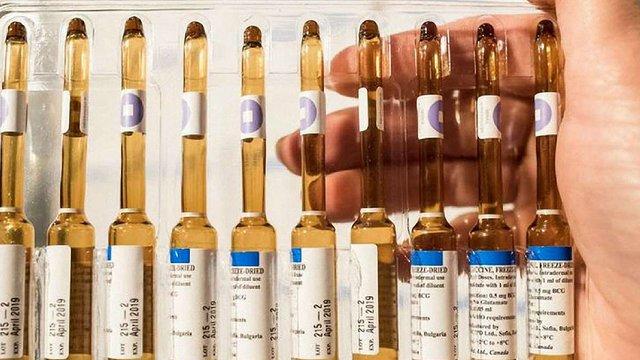 МОЗ замовлятиме вакцини за міжнародними стандартами розрахунку