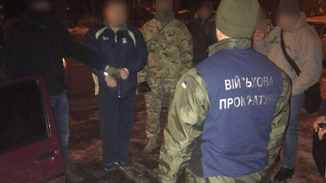 На Рівненщині на хабарі затримали заступника начальника штабу Нацгвардії