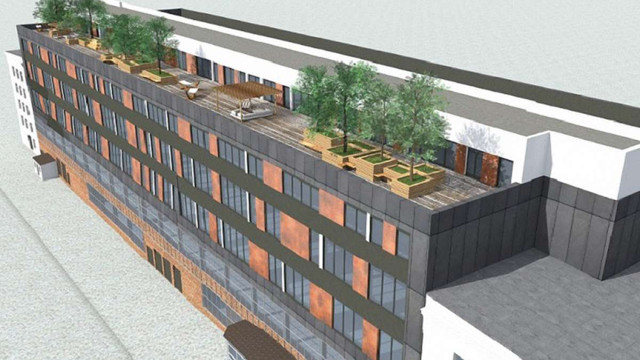 Будівлю колишнього заводу «Кінескоп» у Львові реконструюють під офісний центр