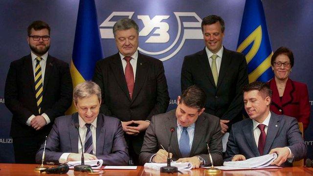 «Укрзалізниця» підписала мільярдну угоду з General Electric