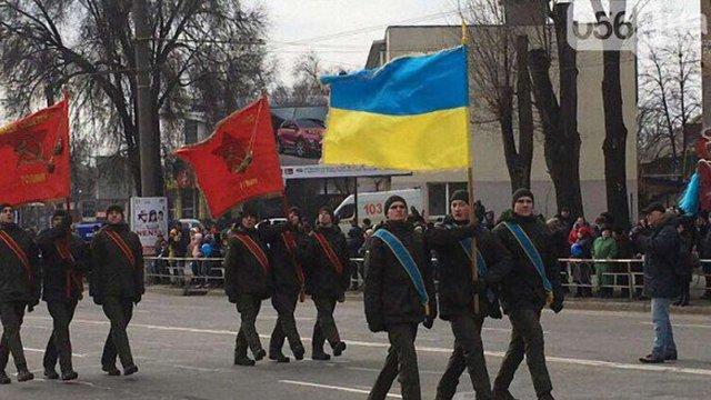 МВС почало розслідування через використання радянської символіки бійцями НГУ в Кривому Розі