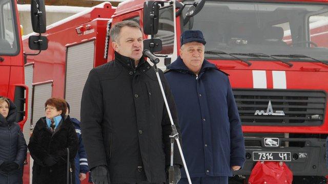 Синютка не помітив антиукраїнської позиції у закупівлі білоруських пожежних машин