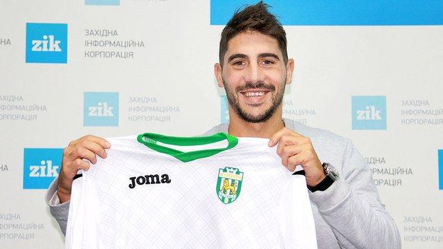 «Карпати» підписали контракт з колишнім гравцем аргентинського «Бока Хуніорс»