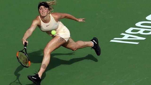 Еліна Світоліна виграла турнір в Дубаї, перемігши у фіналі росіянку