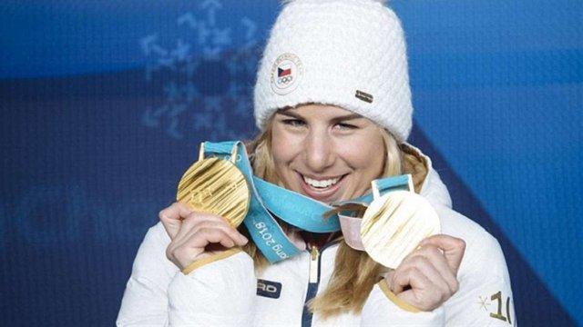 Чеська сноубордистка і лижниця вперше в історії Олімпіад здобула золото в обох видах спорту