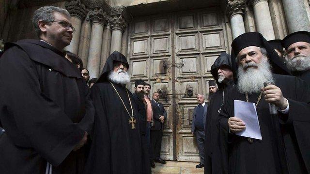 В Єрусалимі на невизначений час закрили Храм Гробу Господнього