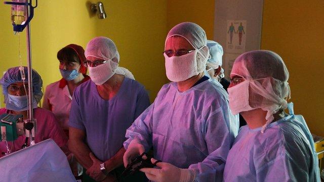 Уперше в Україні хірурги у Львові заново сформували стравохід 1,5-місячному немовляті