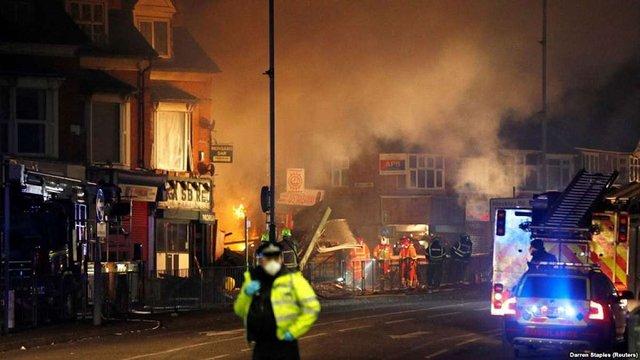 Унаслідок вибуху в британському Лестері загинули чотири людини