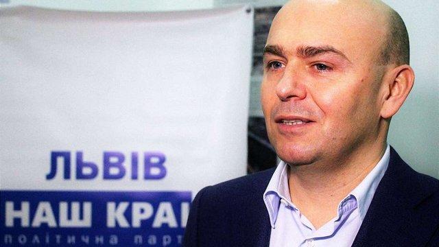 Олега Баляша переобрали головою партії «НАШ КРАЙ» у Львові