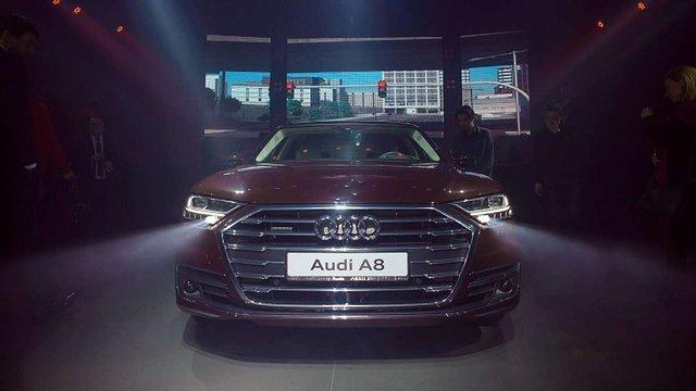 Ласкаво просимо у майбутнє: у Львові відбулася презентація нового Audi A8!