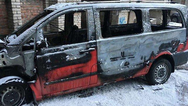 У Червонограді спалили машину директора місцевого ринку
