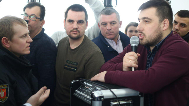 У Луцькій міськраді депутати побилися через питання про дозвіл будівництва