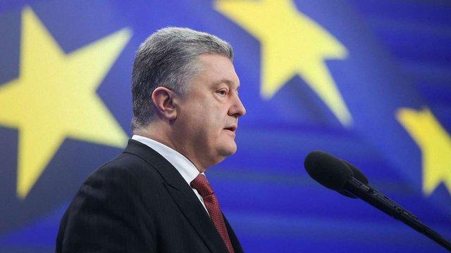 Президент запропонував закріпити в Конституції курс на членство в ЄС і НАТО