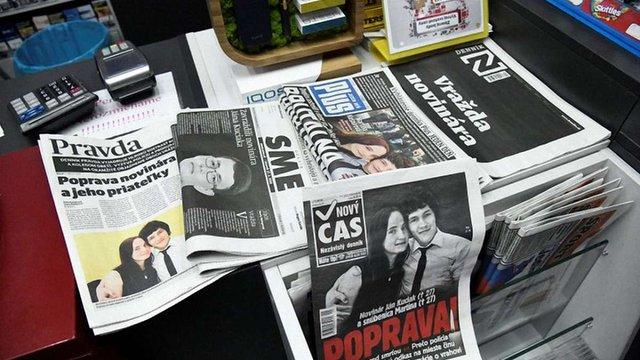 У Словаччині міністр і чиновники йдуть у відставку через розстріл журналіста