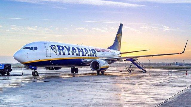 Ryanair спочатку розпочне польоти до Києва, а вже згодом – до Львова