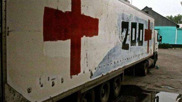 ОБСЄ знайшла фургон з «вантажем 200» на окупованій частині Донбасу