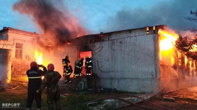 Внаслідок пожежі у Баку загинули 24 пацієнти наркодиспансеру