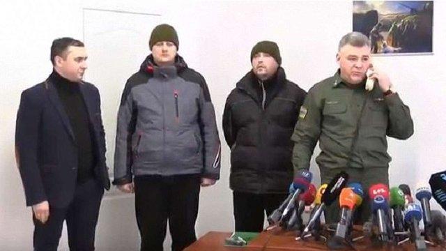 Росія повернула викрадених у жовтні 2017 року двох українських прикордонників