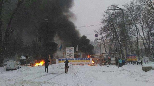 Поліція розібрала наметове містечко під Верховною Радою