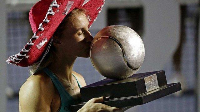 Українська тенісистка Леся Цуренко виграла турнір WTA в Акапулько