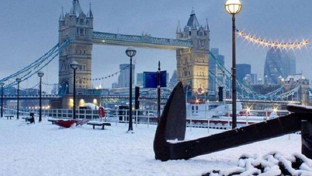 Сильні морози принесли мільярдні збитки економіці Великої Британії
