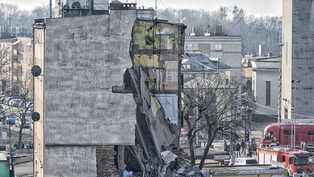 У Познані внаслідок вибуху газу обвалився чотириповерховий будинок, є загиблі