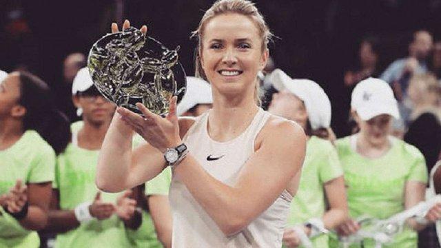 Еліна Світоліна виграла турнір у Нью-Йорку з призовим фондом $250 тис.