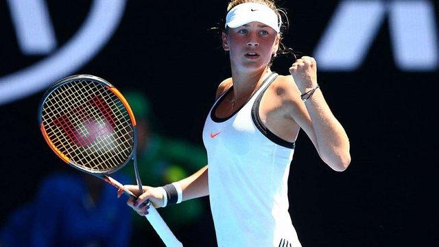 Українка Марта Костюк вийшла до чвертьфіналу тенісного турніру в Китаї