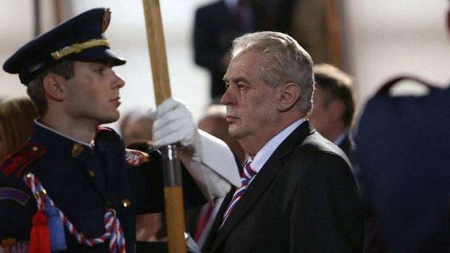 У столиці Чехії відбулась інавгурація проросійського президента Мілоша Земана