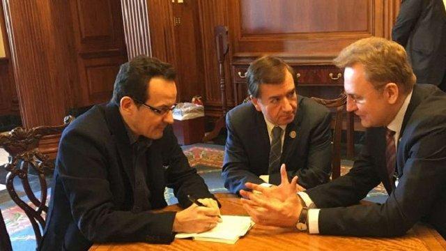 Від України очікують реформ, – Садовий після зустрічей в Конгресі США
