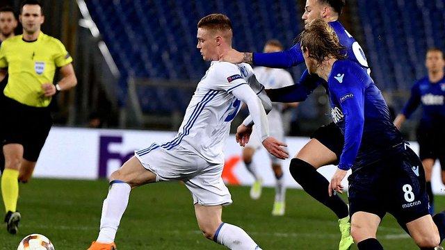 Півзахисника «Динамо» назвали найкращим гравцем тижня в Лізі Європи