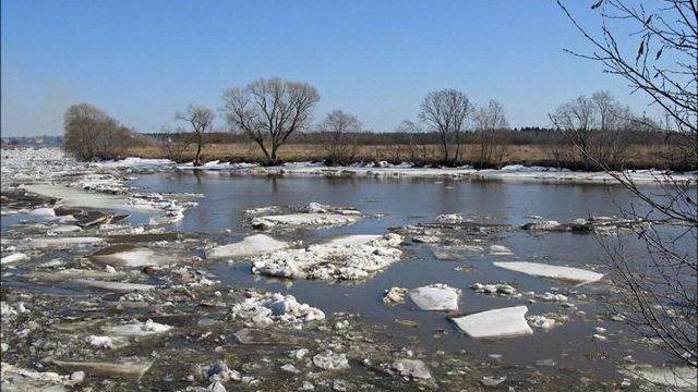 ДСНС попередила про льодохід та розливи річок через відлигу в Україні