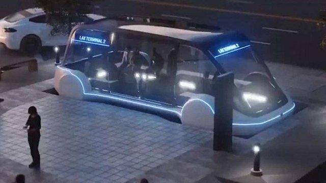 Ілон Маск презентував відео проекту підземного громадського електробуса