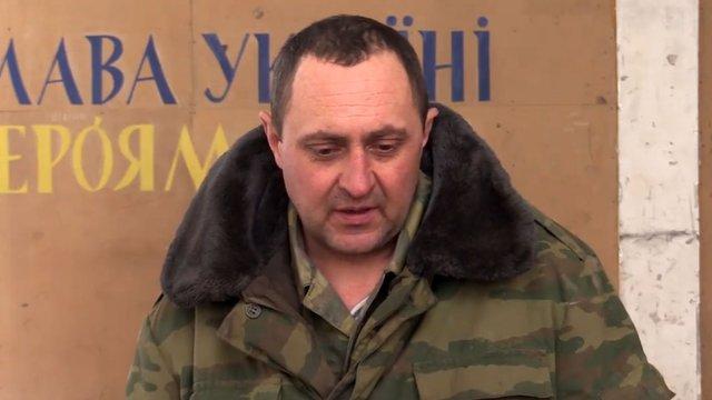 Українські військові на Донбасі затримали бойовика при спробі потрапити в тил