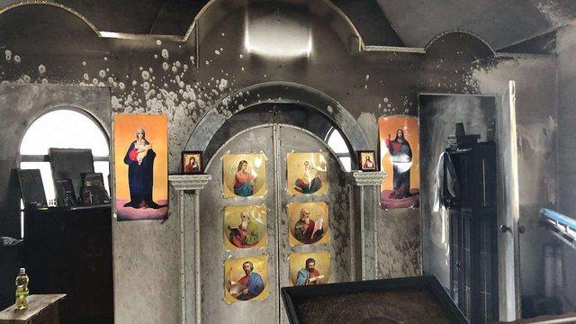 Вночі у Києві намагалися спалити церкву УПЦ МП